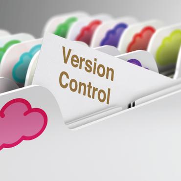 バージョン管理機能でファイル共有時の課題を解決